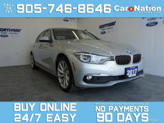 Used 2017 BMW 3 Series xDrive | NAVI | DIESEL | LEATHER | SUNROOF for sale in Brantford, ON