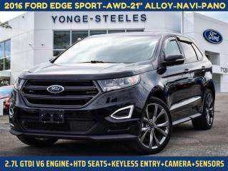 Used 2016 Ford Edge SPORT for sale in Thornhill, ON