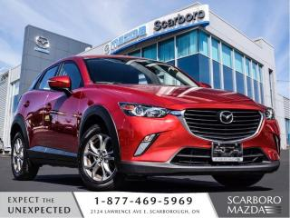 Used 2017 Mazda CX-3 1.5%@FINANCE|CPO|GS|CLEAN CARFAX|MOONROOF for sale in Scarborough, ON