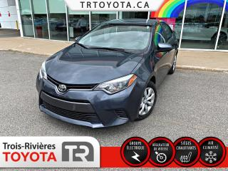 Used 2015 Toyota Corolla LE berline 4 portes CVT for sale in Trois-Rivières, QC