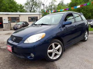 Used 2007 Toyota Matrix Certified for sale in Oshawa, ON