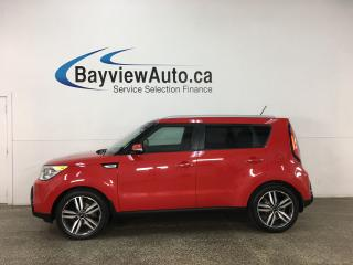 Used 2015 Kia Soul SX - HTD/COOLED LTHR! PANOROOF! NAV! + MUCH MORE! for sale in Belleville, ON