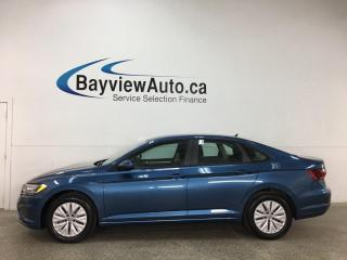 Used 2019 Volkswagen Jetta 1.4 TSI Comfortline - AUTO! HTD SEATS! REVERSE CAM! APPLE CARPLAY! ANDROID AUTO! for sale in Belleville, ON