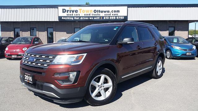 2016 Ford Explorer XLT LOADED  **7RIDER**LEATHER**NAVIGATION