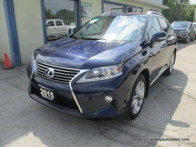 2015 Lexus RX 350 LOADED ALL-WHEEL DRIVE 5 PASSENGER 3.5L - V6.. NAVIGATION.. LEATHER.. HEATED/AC SEATS.. POWER SUNROOF.. BACK-UP CAMERA.. BLUETOOTH SYSTEM..