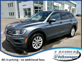 Used 2019 Volkswagen Tiguan TRENDLINE 4MOTION AWD for sale in PORT HOPE, ON