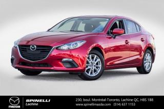 Used 2016 Mazda MAZDA3 GS TOIT OUVRANT SIEGES CHAUFFANTS BLUETOOTH Mazda 3 GS  2016 for sale in Lachine, QC