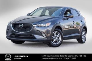 Used 2018 Mazda CX-3 GS SIEGES CHAUFFANTS CAMERA DE RECUL BLUETOOTH Mazda CX-3 GS 2018 for sale in Lachine, QC