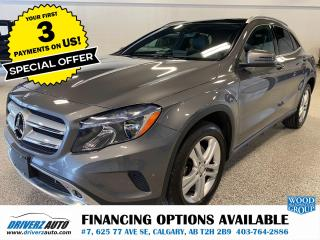 Used 2017 Mercedes-Benz GLA 250 HEATED LEATHER, ROOF, NAV. for sale in Calgary, AB