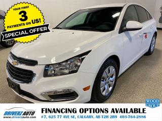 Used 2015 Chevrolet Cruze 1LT REMOTE START, BACK UP CAM, AND MORE... for sale in Calgary, AB
