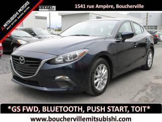 Used 2016 Mazda MAZDA3 GS * TOIT OUVRANT, MAGS, BLUETOOTH * for sale in Boucherville, QC