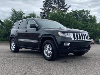 Used 2011 Jeep Grand Cherokee Laredo TRAILER TOW GROUP, FACTORY REMOTE STARTER, POWER DRIVERS SEAT, QUADRA-TRAC for sale in Ottawa, ON