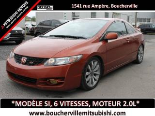 Used 2009 Honda Civic 2DR MAN SI for sale in Boucherville, QC