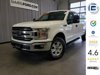 Used 2018 Ford F-150 XLT cabine double 4RM caisse de 8 pi for sale in St-Hyacinthe, QC