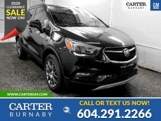New 2020 Buick Encore Sport Touring CARTER DISCOUNT SAVE $5,106 for sale in Burnaby, BC