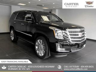 New 2020 Cadillac Escalade Platinum 4x4 - Power Liftgate - Navigation - Heated Seats for sale in Burnaby, BC