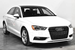 Used 2016 Audi A3 KOMFORT TSI CUIR TOIT MAGS BLUETOOTH for sale in St-Hubert, QC
