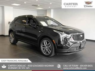 New 2020 Cadillac XT4 Sport AWD - Power Liftgate - Heated Leather Seats - OnStar for sale in Burnaby, BC
