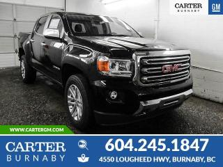 New 2020 GMC Canyon SLT 4x4 - Apple CarPlay - Heated Steering Wheel - Alloys for sale in Burnaby, BC