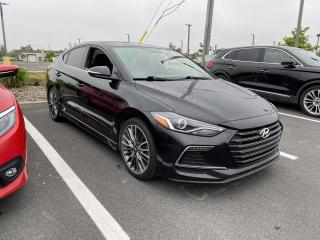 Used 2017 Hyundai Elantra SPORT 1.8TURBO CUIR TOIT NAV MAGS for sale in St-Hubert, QC