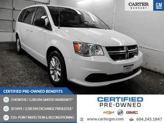 Used 2017 Dodge Grand Caravan CVP/SXT Bluetooth - Rear View Camera - Alloys - MUST SEE! for sale in Burnaby, BC