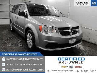 Used 2014 Dodge Grand Caravan SE/SXT CLEAN LOW KMs! - ONE OWNER! - NO ACCIDENT for sale in Burnaby, BC