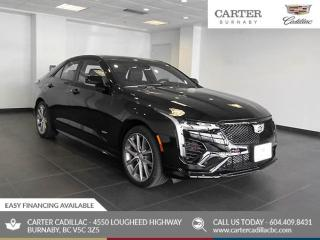 New 2020 Cadillac CT4 V-Series AWD - Sunroof - Bose Premium Audio - Heated Seats for sale in Burnaby, BC