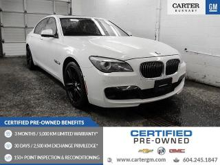 Used 2012 BMW 750 i xDrive GREAT CONDITION - GPS Nav - Heads Up Display - Sunroof for sale in Burnaby, BC
