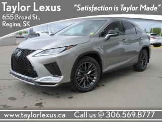 New 2020 Lexus RX 350 for sale in Regina, SK