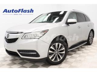 Used 2014 Acura MDX NAVIGATION *AWD *CAMERA *CUIR *TOIT-OUVRANT *FULL! for sale in St-Hubert, QC