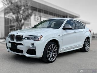 Used 2017 BMW X4 M40i Premium! Executive! Speed Limit Info! for sale in Winnipeg, MB