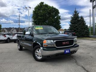 Used 2001 GMC Sierra 1500 SLE DUE TO KMS, AS IS SALE for sale in Grimsby, ON