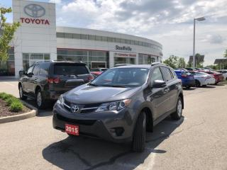 Used 2015 Toyota RAV4 AWD LE UPGRADE - BACKUP CAMERA - NO ACCIDENTS - HEATED FRONT SEATS for sale in Stouffville, ON