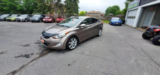 Used 2012 Hyundai Elantra Limited w/Navi for sale in Cornwall, ON