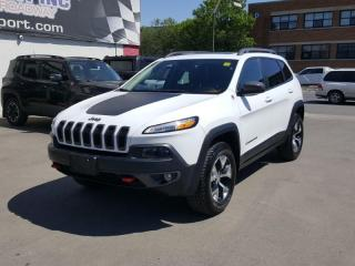 Used 2016 Jeep Cherokee Trailhawk for sale in Regina, SK