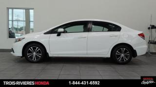 Used 2015 Honda Civic LX + MANUELLE + DÉMARREUR ! for sale in Trois-Rivières, QC