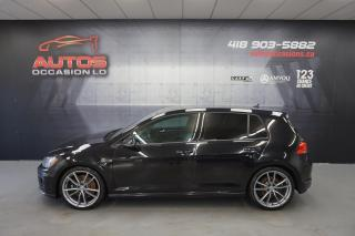 Used 2016 Volkswagen Golf R TECH PACKAGE + PRETORIA + 292 HP AWD + MANUELLE for sale in Lévis, QC