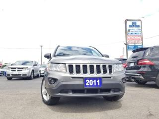 Used 2011 Jeep Compass Limited 4WD  NO ACCIDENTS CARFAX CLEAN LEATHER for sale in Brampton, ON