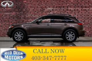 Used 2008 Infiniti FX35 AWD Luxury Edition Leather Roof Nav for sale in Red Deer, AB