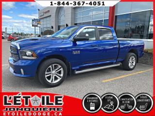 Used 2017 RAM 1500 Cabine multiplaces 4x4 Sport V8 for sale in Jonquière, QC