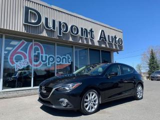 Used 2016 Mazda MAZDA3 Hayon 4 portes Sport, boîte automatique, for sale in Alma, QC
