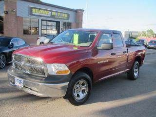 Used 2012 RAM 1500 ST Quad Cab 4WD for sale in Brockville, ON