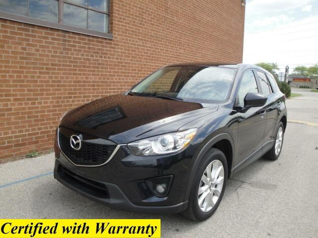 2014 Mazda CX-5 1 OWNER, NO ACCIDENT, AWD, GT, LEATHER SUNROOF