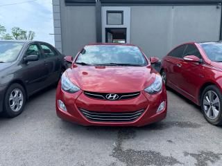 Used 2013 Hyundai Elantra **LIMITED**NAVI**SUNROOF**BLUETOOTH**REARVIEW CAM** for sale in Hamilton, ON