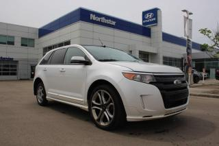 Used 2013 Ford Edge SPORT AWD/LEATHER/NAV/PANOROOF/BACKUPCAM for sale in Edmonton, AB