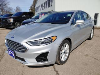 Used 2019 Ford Fusion Hybrid SEL for sale in Pembroke, ON