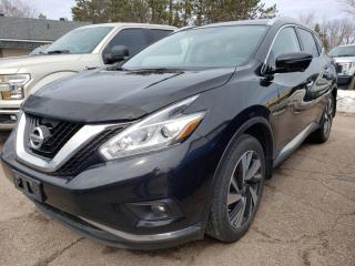 Used 2017 Nissan Murano Platinum for sale in Pembroke, ON