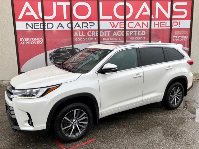 2017 Toyota Highlander XLE-ALL CREDIT ACCEPTED