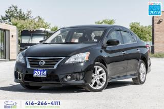 Used 2014 Nissan Sentra SR|Keyles Entry|Alloys|Sport Bumper|Bluetooth for sale in Bolton, ON