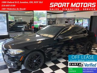 Used 2015 BMW 5 Series 528i xDrive+GPS+Camera+New Tires+Accident Free for sale in London, ON